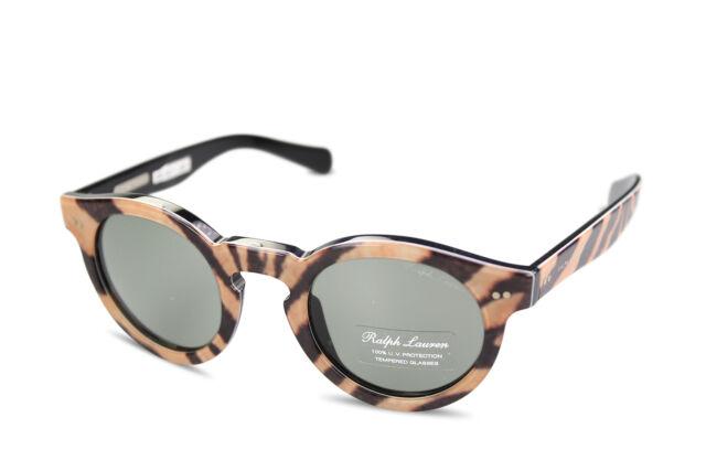 a1b452db29d1 Ralph Lauren Women's Sunglasses RL8071 5437/52 Animal Print Safari ...