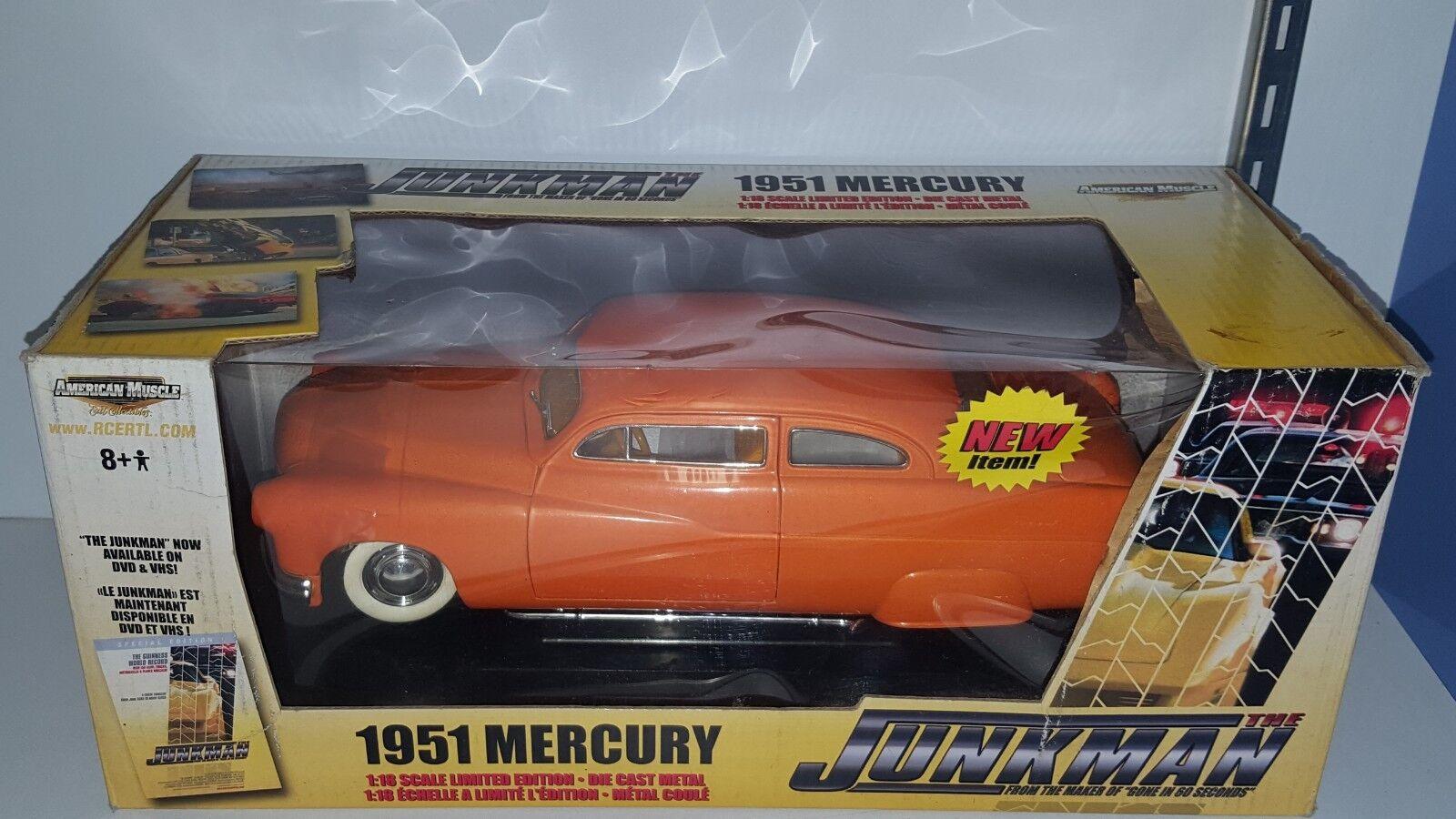 1/18 Ertl Junkman 2018 Mercury Naranja PD