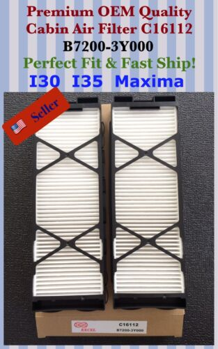 PREMIUM QUALITY Cabin Air Filter C16112 ^o^ 00-03 I35 I30 // Maxima 01 02-04