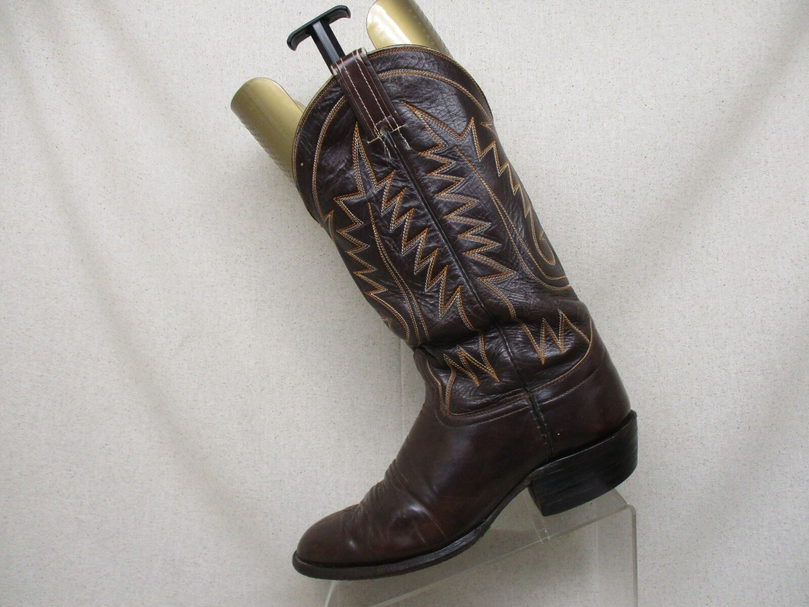 Hondo Marrone Leather Pull Pull Pull On Western Cowboy stivali Uomo Dimensione 9D Style 5982 a8b4eb