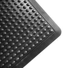 Anti Fatigue Air Step, Ergo Dome Rubber Mat Commercial Grade 600 x 900mm - Black