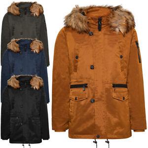 Manteau homme TWIG Norhtern Parka L308 veste capuche fourrure blouson