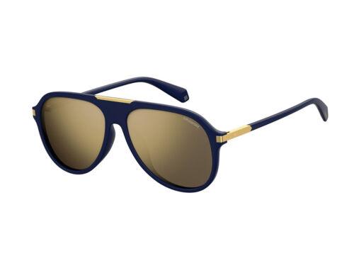 gafas de sol Polaroid polarizadas PLD 2071/G/S/X azul oro espejo PJP/LM