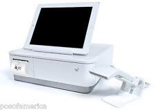 Star Micronics MPOP Terminal Scanner Printer Cash Drawer Tablet Stand White NEW