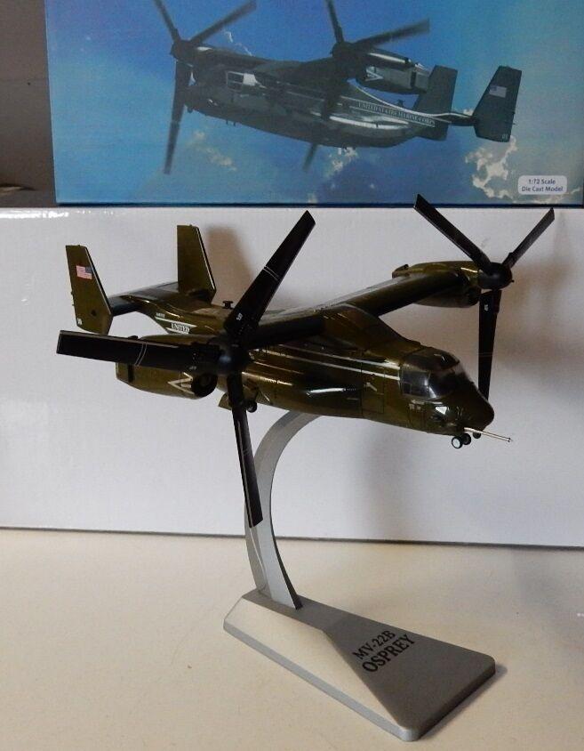Air Force 1 Bell-Boeing mv-22b Osprey USMC Presidente-Flight 1/72 metallo