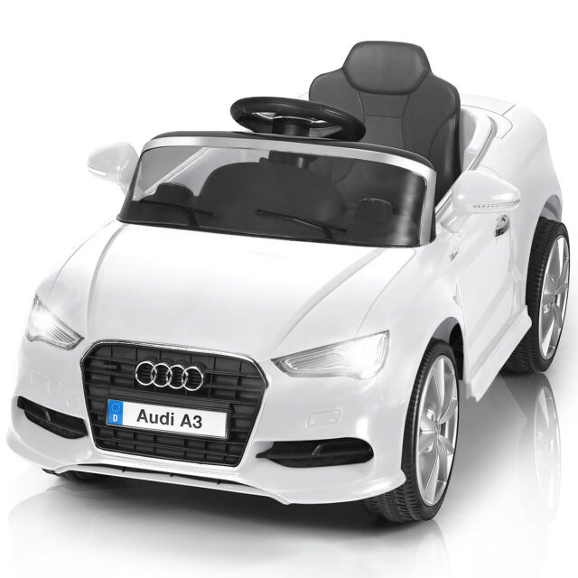 Costzon Licensed Audi A3 Kids Ride On Car 12v Rc Powered Riding Toy Vehicle For Sale Online Ebay