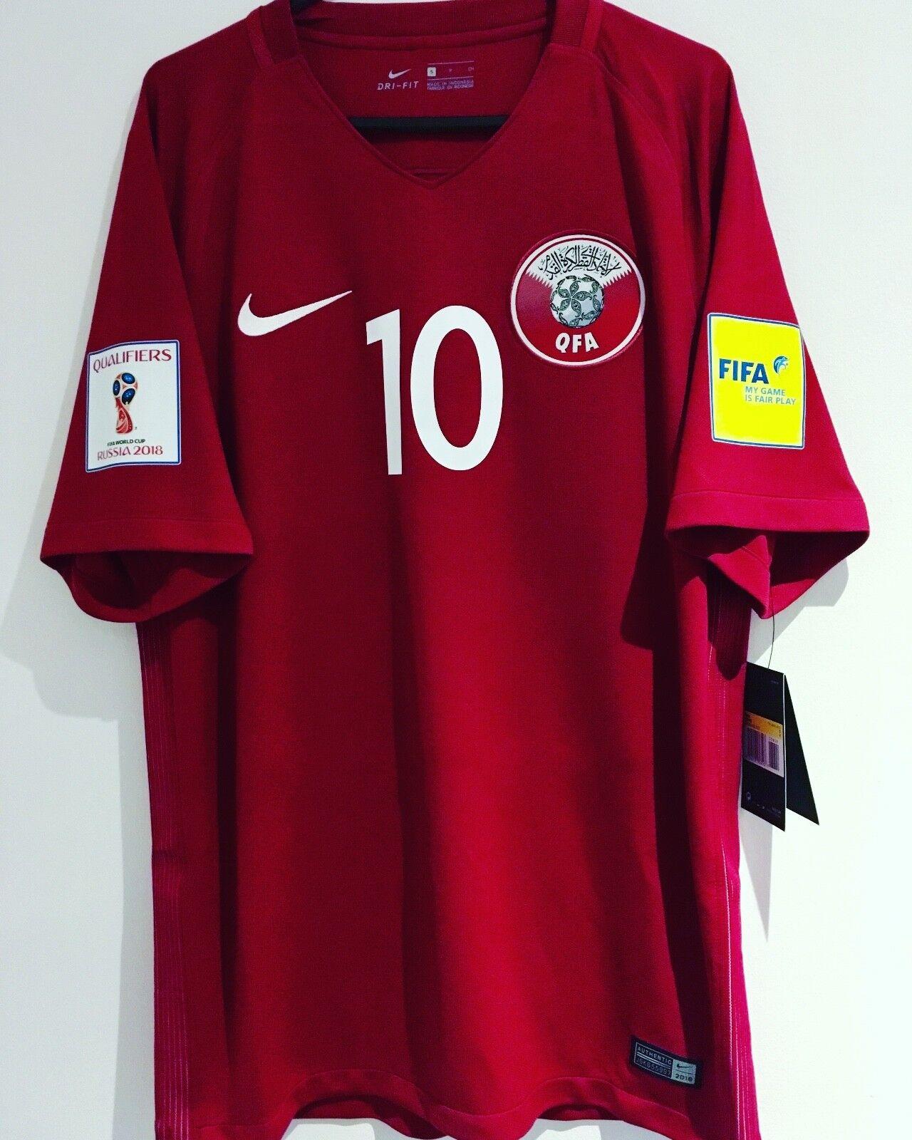 BNWT  1718 Qatar Camicia  10 alhaidos Taglia S