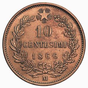 29a10ce676 Caricamento dell'immagine in corso 10-CENTESIMI-1866-MILANO -VITTORIO-EMANUELE-II-REGNO-