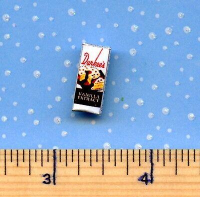Discontinued Dollhouse Miniature Size Durkees Vanilla Box