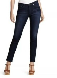 AG-Adriano-Goldschmied-Jeans-The-Stilt-Cigarette-Leg-Blue-Size-29-R