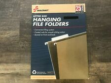 Skilcraft Hanging File Folders Letter Size 25box Green New