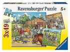 Ravensburger 3 X 49pc Puzzle - a Day With Horses