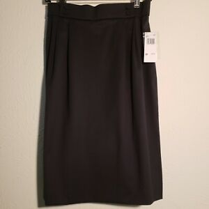 Austin Reed Women S Navy Wool Skirt Size Petite 10p Lined Ebay