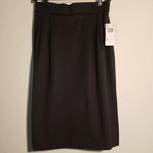 Austin Reed Women S Navy Wool Skirt Size Petite 10p Lined Ebay
