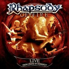 Rhapsody of Fire - Live: From Chaos to Eternity [New CD]