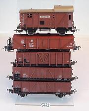 Piko H0 Güterwagen Konvolut 2-achsig der CSD, SBB-CFF & DR  #5733