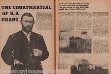 Court-Martial of U.S. Grant@Fort Humboldt+Buchanan,Crook,Eisenhower,Lincoln,Wood