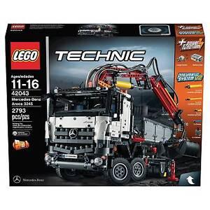 lego technic mercedes benz arocs 3245 42043 ebay. Black Bedroom Furniture Sets. Home Design Ideas