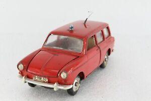 A-S-S-MARKLIN-1-43-1800-RAK-1807-VW-1600-VARIANT-FEUERWEHR-1968-TOP-GUMMIRADER