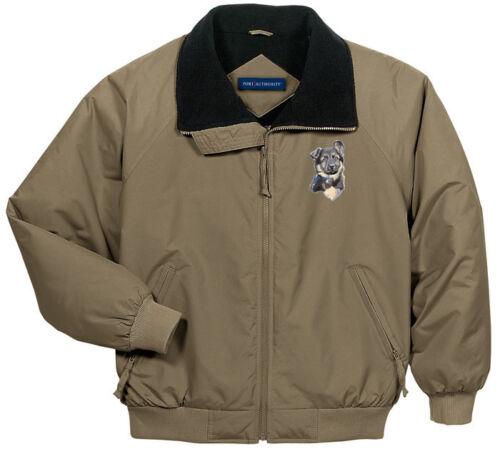 German Shepherd Embroidered Jacket Left Chest Sizes XS thru XL
