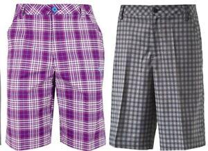 Puma-Golf-Essential-Solid-amp-Plaid-Check-Shorts-RRP-50-W28-W30-1st-Class-Post
