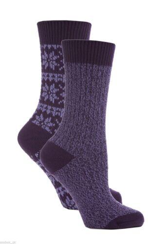 Great Price! SOLTKO1G1 Ladies Jennifer Anderton Chunky Knit Socks 4 Colours