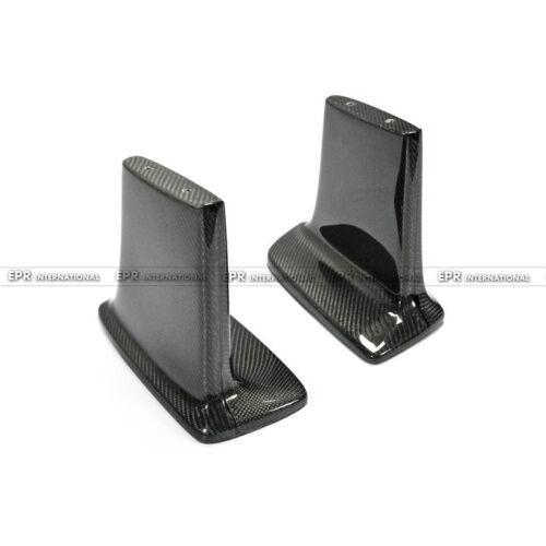For Nissan GTR R34 Juny Style Carbon Fiber Rear Spoiler Leg Lifter 21cm High
