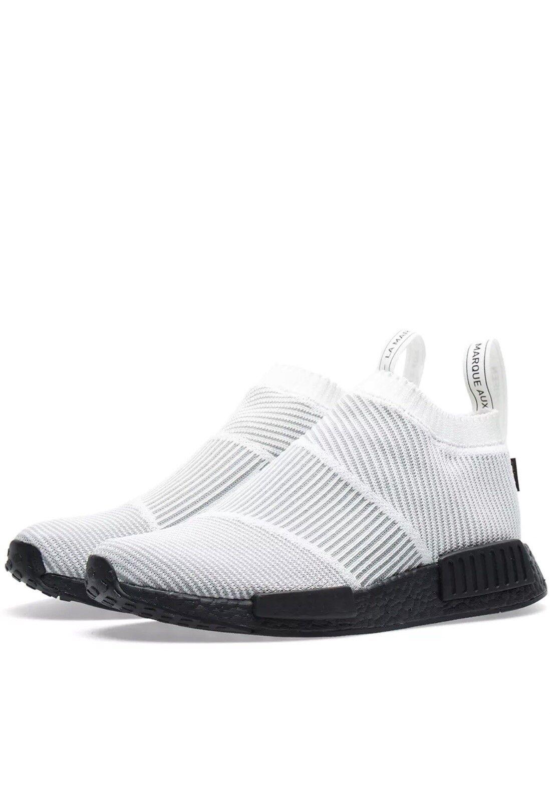 Adidas nmd cs1 pk.ultra misura 8,5 bianco nero.by9404.gortex.primeknit pk.ultra cs1 impulso b6711c