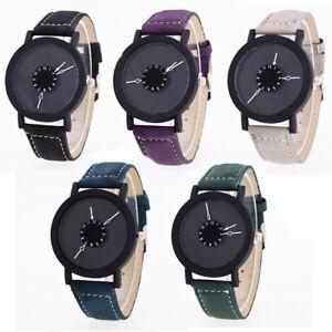 Orologio-Polso-di-design-Uomo-Donna-Unisex-Casual-Cinturino-Vari-Colori