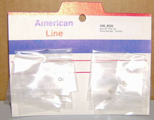 """#522 NEW OLD STOCK /""""6/"""" PAIR NON MT PICK UP SHOE SPRINGS"""
