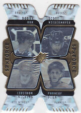 2007-08 SPx Force Quad Holograms #F5 Lidstrom/Niedermayer/Orr/Phaneuf