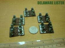 Vintage Radio Electronic Lot 5x Double Sm 2 Postion Chassis Mount Fuse Holders