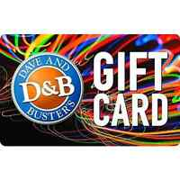 $55 Dave & Busters Gift Card