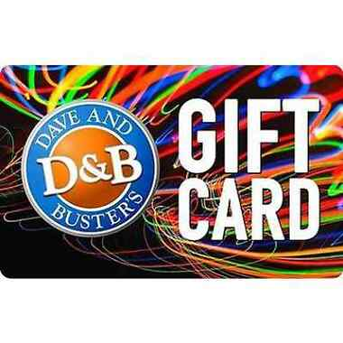 $50 Dave & Busters Gift Card