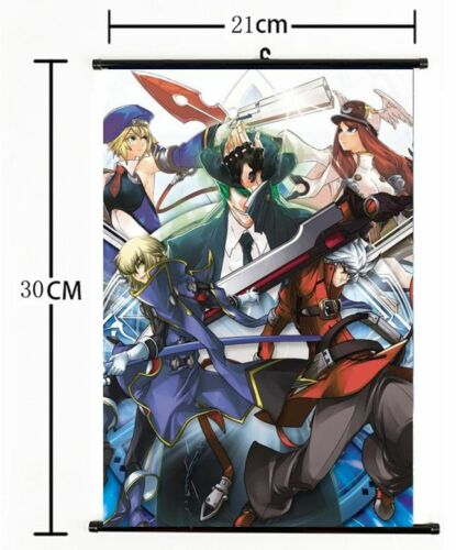Japan Anime Game Playstation BLAZBLUE Wall Scroll Poster cosplay 731
