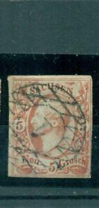 Sassonia, re n. 12 timbrato n. 1