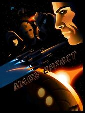 POSTER MASS EFFECT GAME SHEPARD KIRRAE MOREAU PS3 XBOX 360 2 3 N7 N 7 PC PS #4