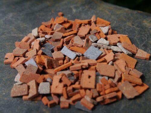 15sq INS Bolsa de 1 40g 1:24th Escala Real Ladrillo /& Stone Miniatura constructores escombros