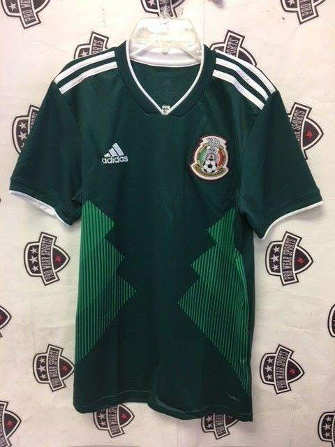 Mexico 2018 World Cup Home Jersey Large