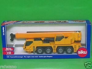 Siku Super 2110 Feuerwehrkranwagen Feuerwehr 1:55 NEU Blechspielzeug