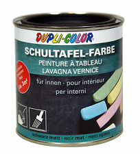 Motip DUPLI COLOR Schultafel Farbe Lack, Tafellack, 375 ml., schwarz, 368103
