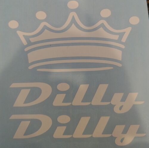 Dilly Dilly Beer with Crown Vinyl Sticker Decal $1.59 up to $9.99