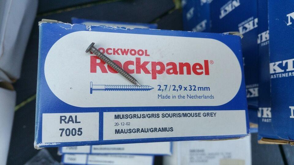 Rockwool søm