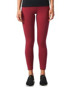 burgundy adidas leggings