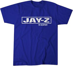 Jay z the blueprint promo t shirt classic hip hop roc a fella ebay image is loading jay z the blueprint promo t shirt classic malvernweather Images