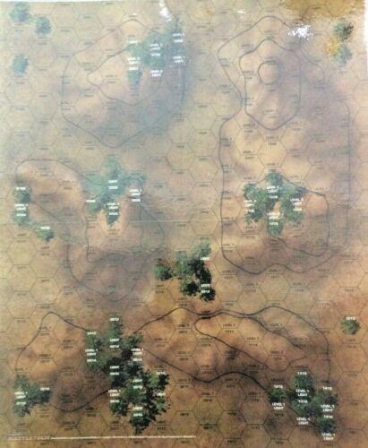 MAP SET COMPILATION #1 FASA BATTLETECH MINT CONDITION MAPS #2 LAMINATED