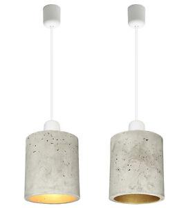 betonleuchte betonlampe pendellampe pendelleuchte beton design antares s2 ebay. Black Bedroom Furniture Sets. Home Design Ideas