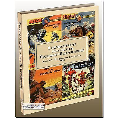 Enzyklopädie Deutscher Piccolo-Bilderhefte 4 COMIC Faszination - Lehning LP 50er