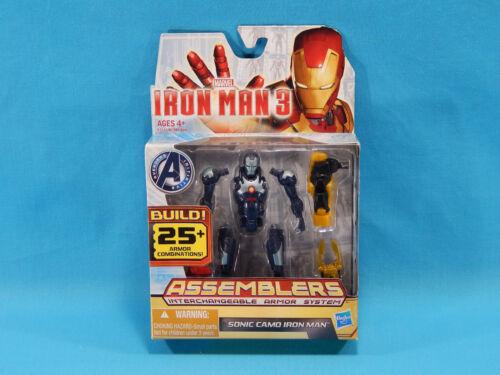 Iron Man 3 Assemblers Sonic Camo Iron Man #08 Marvel Avengers 2012