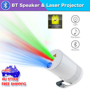 Image Is Loading Laser Light Projector With Bluetooth Speaker Portable Music
